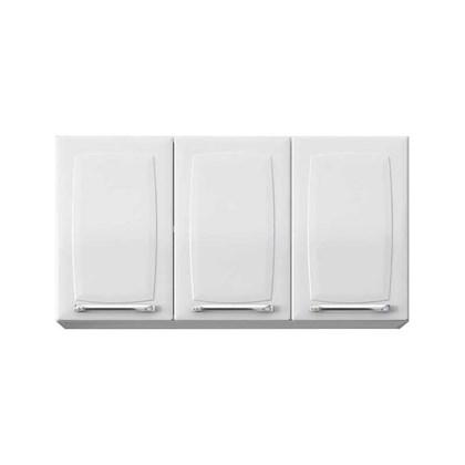 Armário Aéreo de Cozinha 3 Portas IP3-105 Luce Itatiaia Branco Neve