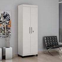 Armário Multiuso 2 Portas Asteca Valdemóveis Branco