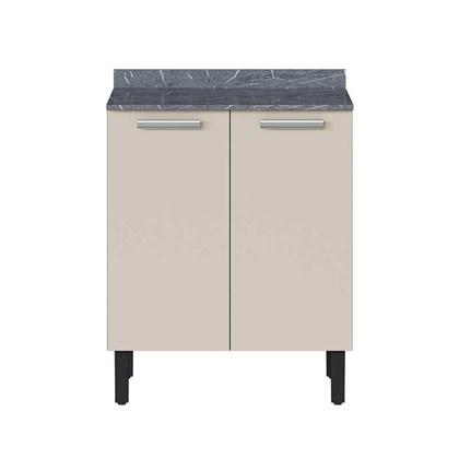 Balcão de Cozinha 2 Portas IG2-70 Pop Art I2 Itatiaia Grafite/Off White