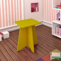 Banqueta Infantil Twister Tcil Móveis Amarelo