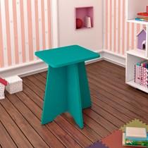 Banqueta Infantil Twister Tcil Móveis Aqua