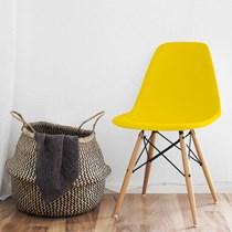 Cadeira Charles Eames Eifel Amarelo