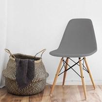 Cadeira Charles Eames Eifel Cinza