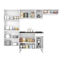 Cozinha Compacta 4 Peças com Paneleiro e Balcão Rose Itatiaia  Branco