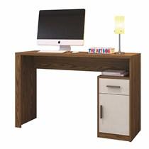 Escrivaninha 1 Porta 1 Gaveta  Lúminus Mavaular Canion Soft/Off White