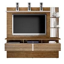 Home Suspenso para TV até 65 Polegadas Miami Valdemóveis Ipê/Off White