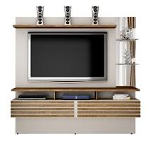 Home Suspenso para TV até 65 Polegadas Miami Valdemóveis Off White/Ipê