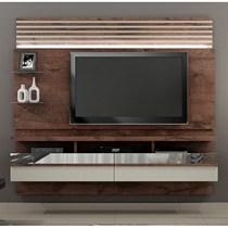 Home Suspenso para TV até 65 Polegadas Napoles Valdemóveis Castanho/Off White