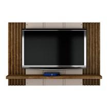 Painel Extensível para TV até 47 Polegadas Bolonha Valdemóveis Off White/Ipê