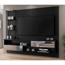 Painel Infinity Plus Para TV Até 65 Polegadas Com Metalon Mavaular Preto