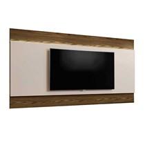 Painel Istambul Para TV Até 65 Polegadas Mavaular Canion Soft/Off White