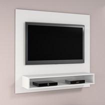 Painel para TV até 50 Polegadas Níquel JCM Móveis Branco